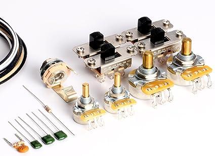Amazon.com: ToneShaper Guitar Wiring Kit, For Fender Jaguar: Musical  InstrumentsAmazon.com