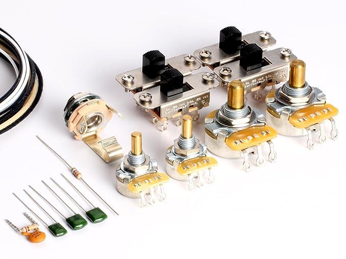 toneshaper Gitarre Verkabelung Kit, für Fender Jaguar: Amazon.de ...