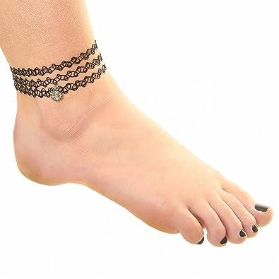 tatouage bracelet cheville. Black Bedroom Furniture Sets. Home Design Ideas