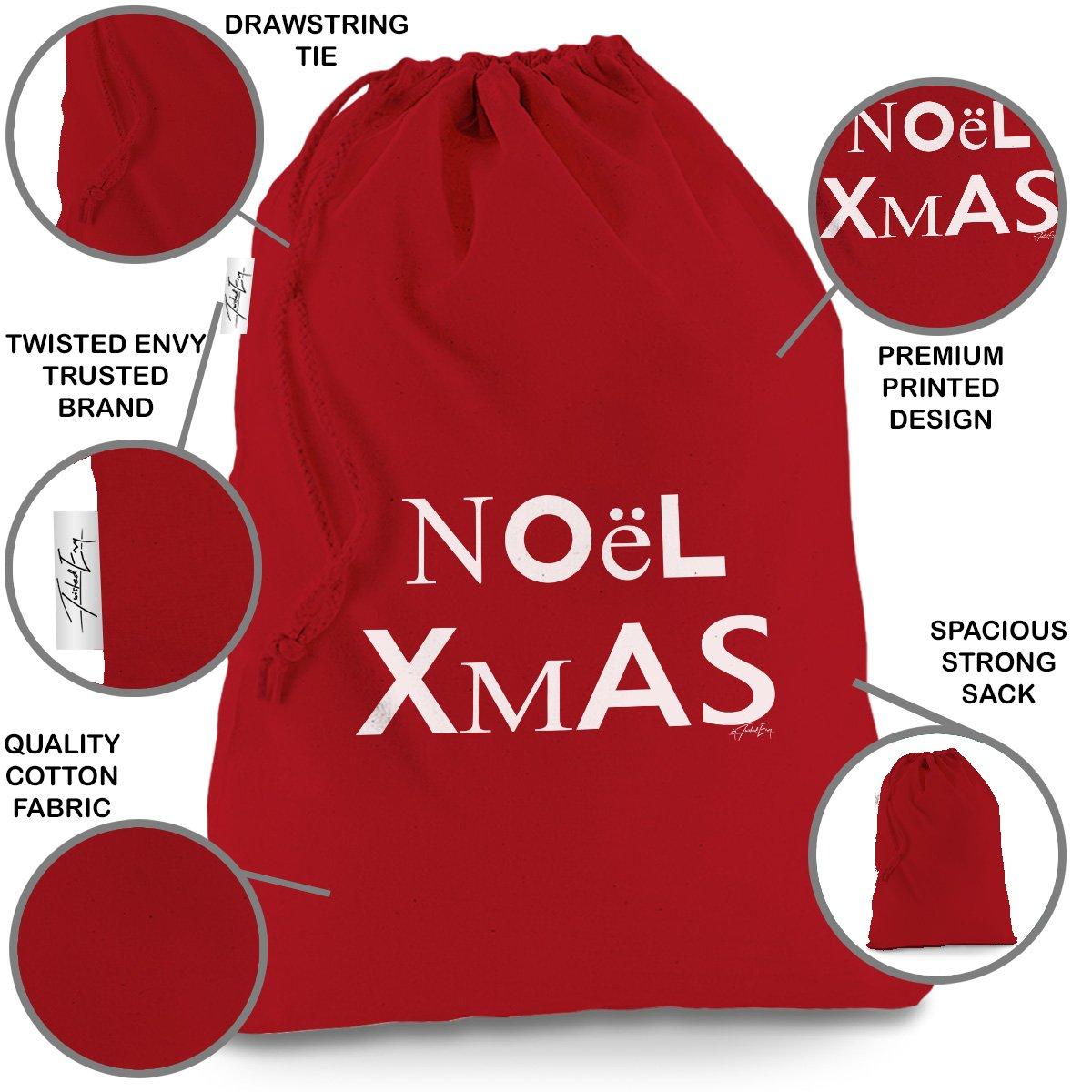 Amazon.de: Rustikal Vintage Noel Weihnachts X-Large Rot ...