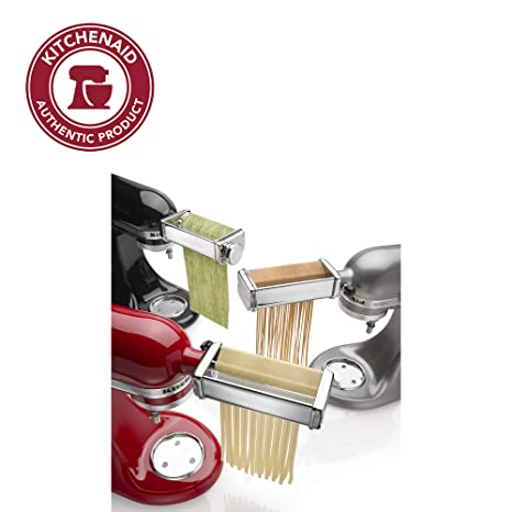 Amazon.com: Kitchenaid KPRA Pasta Roller and cutter for ...