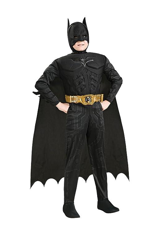 8e785f44e Disfraz de Batman™ para niño - 5-7 años  Amazon.es  Juguetes y juegos