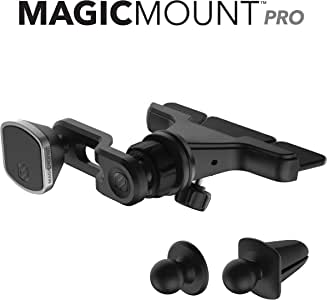 SCOSCHE MM2CDPDVSR-SP MagicMount Pro Universal 3-in-1 Phone/GPS Magnetic CD/Dash/Vent Mount Kit for The Car