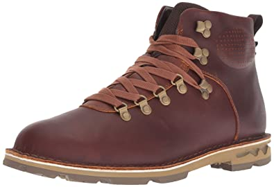 de32c016775 Merrell Men's Sugarbush Braden MID Leather Waterproof Fashion Boot, Oak, ...