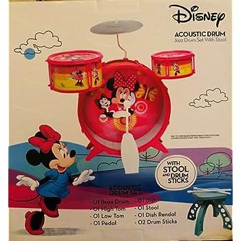 Amazon com: Disney Mickey Mouse Clubhouse Jazz Drum Set