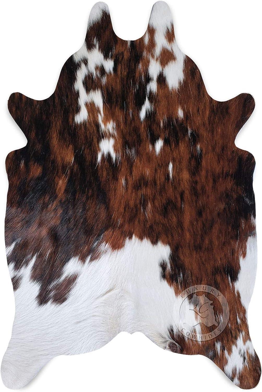 Sunshine Cowhides Mini Cowhide Rug Tricolor 90 x 60 cm Pieles del Sol