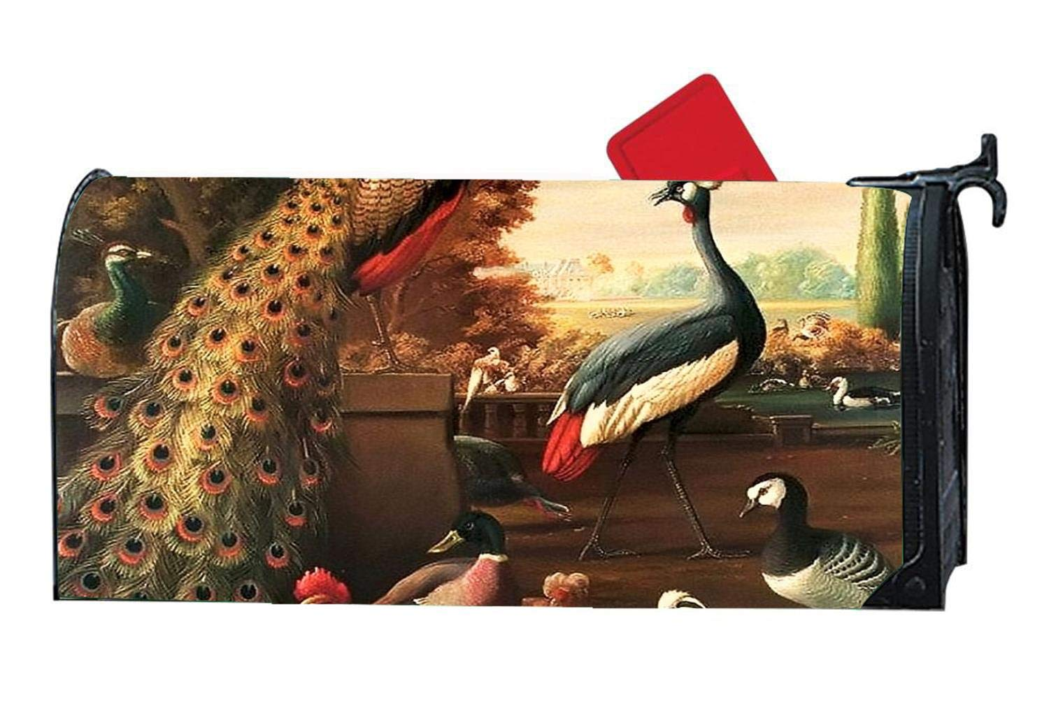 Rooster And Peacock