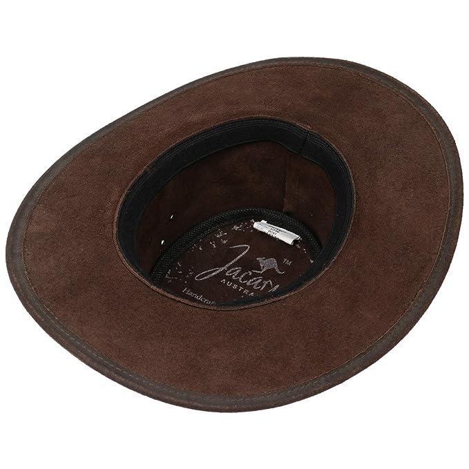 Jacaru Sombrero de Piel Cape York by sombrero de hombresombrero de piel  (XXL 61-62 - marrón)  Amazon.es  Ropa y accesorios 53f08ce210b