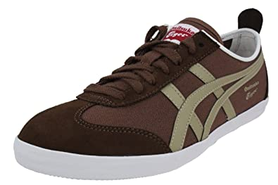 best service ebf2c fb46d ... buy asics onitsuka tiger mexico 66 vulc cv sneaker canvas brown shoe  sizeeur 40.5 2ce8a 54583