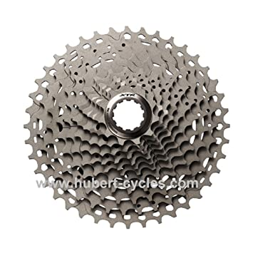 42cf46941db Shimano Deore XT CS-M770 XT 9-speed cassette 11-34T silver: Amazon.co.uk:  Sports & Outdoors