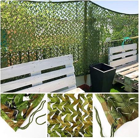Malla de Camuflaje Red de Camuflaje Redes de Protección Solar Malla de Sombra para Invernadero Jardín Sombrilla Cámping Caza Militar Disparar Ciego Mirar Ocultar Decoracion Fiesta (Size : 4x20m) : Amazon.es: Hogar
