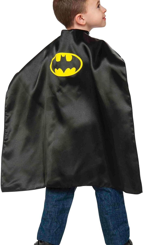 Rubies - Capa de disfraz Batman para niños, Talla única infantil ...