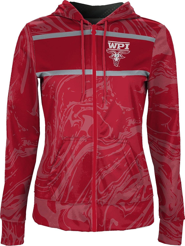 Ripple School Spirit Sweatshirt ProSphere Worcester Polytechnic Institute University Girls Zipper Hoodie