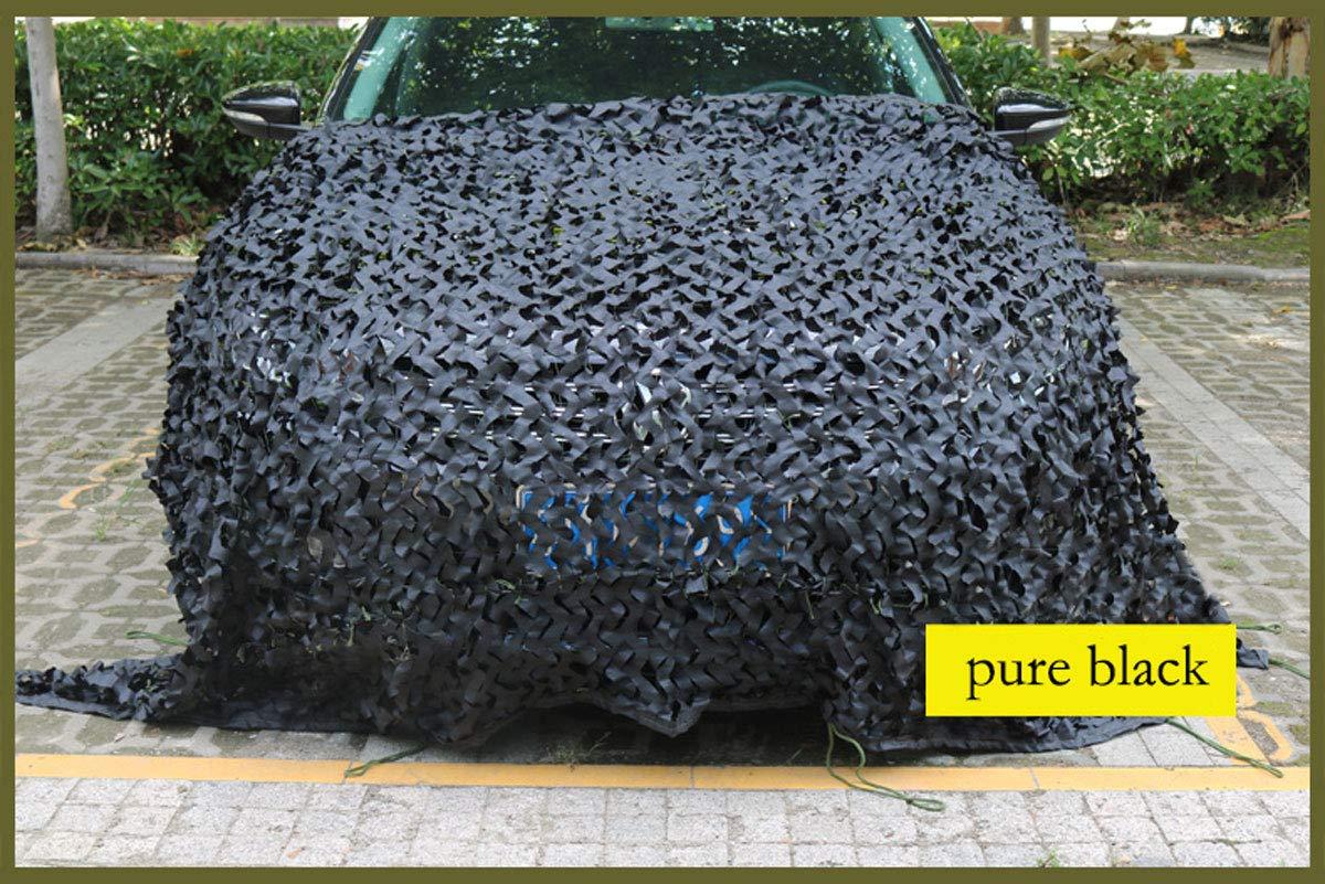 専門ショップ 迷彩ネット迷彩ネット野外活動釣り映画ツリーハウス、すべての色 特別な日焼け止めネット森林狩猟撮影キャンプ日焼け止めネット隠し black (色 : さいず Three-color Three-color printing, サイズ さいず : 10m×20m) B07P2BMPKK Pure black 5m×6m 5m×6m|Pure black, バウムハウス樹凛:bb37794a --- ciadaterra.com