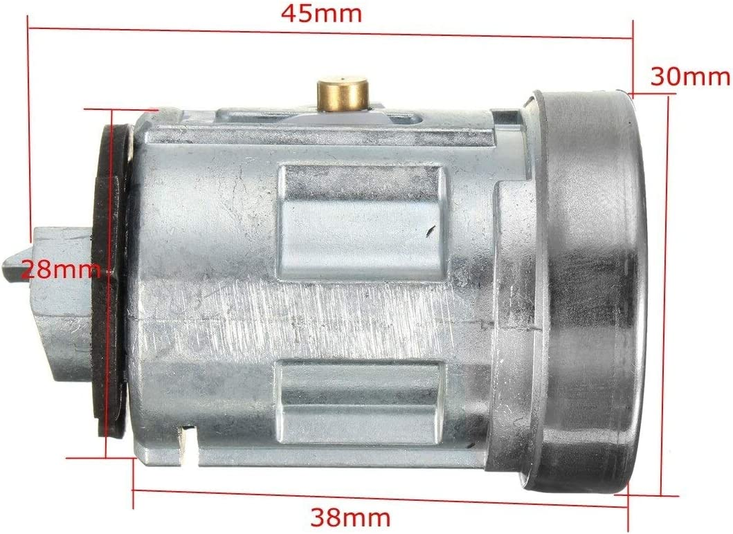 Hermoso Car Ignition Switch /& Barrel Cyclinder Lock Cylinder 2 Keys Fit for Ford Tansit MK7 2006-2014 2S61-A3697-AA