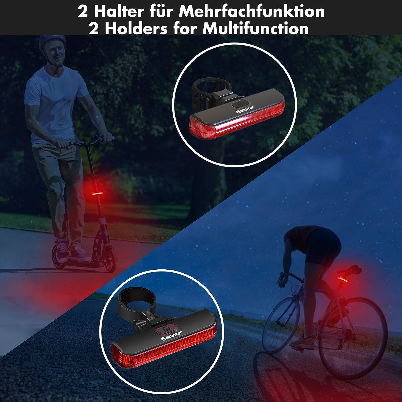 Yisily Fahrradlicht Vorne,Fahrradlicht Hinten,Fahrradlichter,Fahrradhelm Erwachsene Leichte Fahrradhelm Fahrradhelm mit R/ücklicht einstellbar f/ür M/änner Frauen Blau