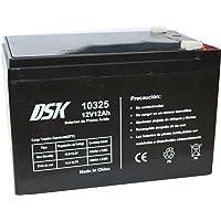 DSK, Batería Plomo Acido 12V 12 Ah, Ideal