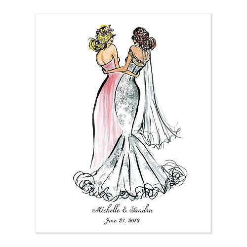 Bride Personalised Gift Bridesmaid Gift Wedding Maid Of Honour Best Friend
