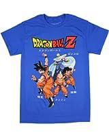 Dragon Ball Z Group Fighting Stance Men's T-Shirt