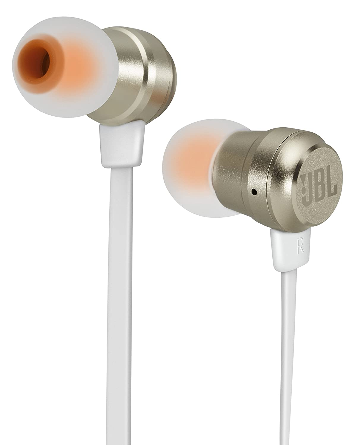 jbl headphones wireless gold. buy jbl t280a gold in-ear headphones online at low prices in india - amazon.in jbl wireless p