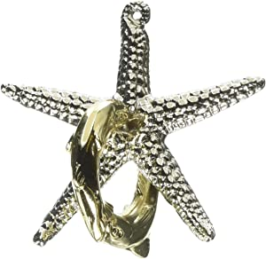 Bepuzzled STARFISH Hanayama Cast Metal Brain Teaser Puzzle (Level 2) Puzzles For Kids and Adults Ages 12 and Up