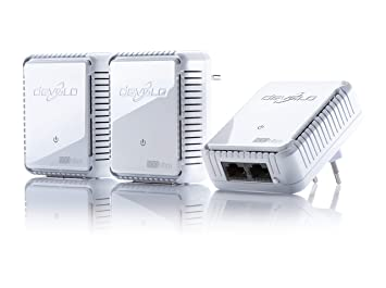 Devolo dLAN 500 WiFi - Kit de adaptador de comunicación por línea eléctrica PLC (500