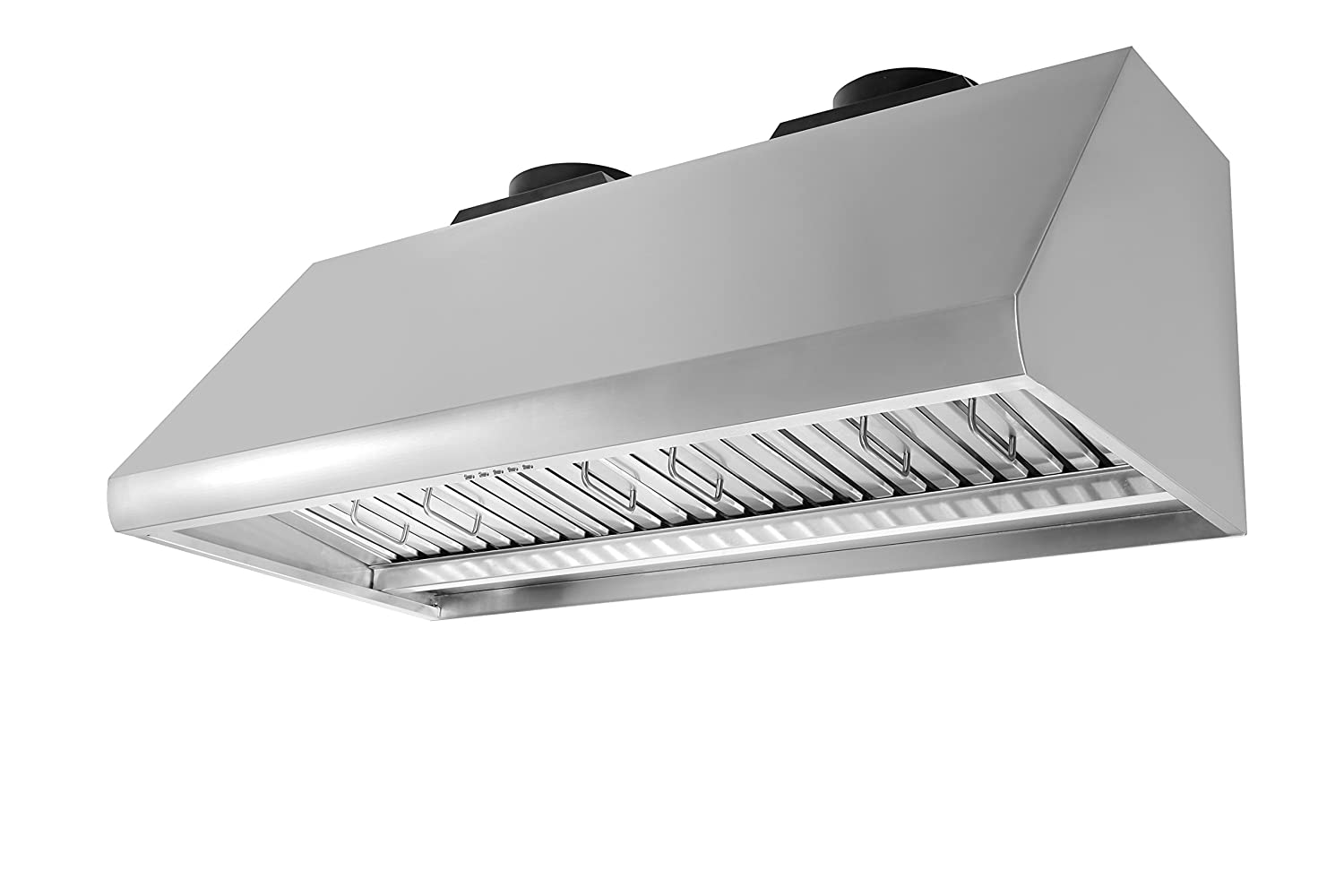 "Thorkitchen HRH4805U 48"" Under Cabinet Range Hood with 1200 CFM Push Control, Stainless Steel"