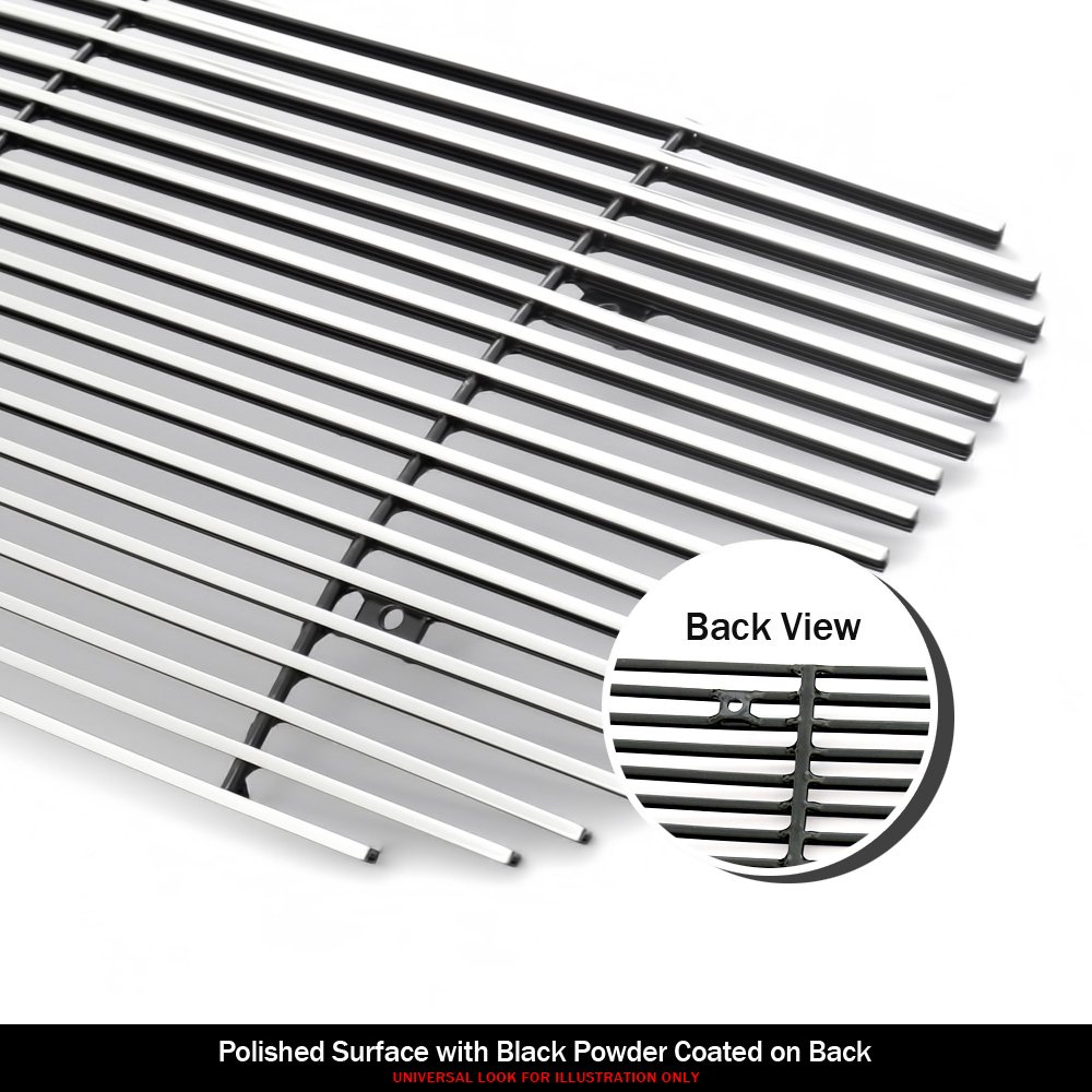 APS Fits 2015-2019 Chevy Suburban//Tahoe Main Upper Billet Grille Insert #C66320A