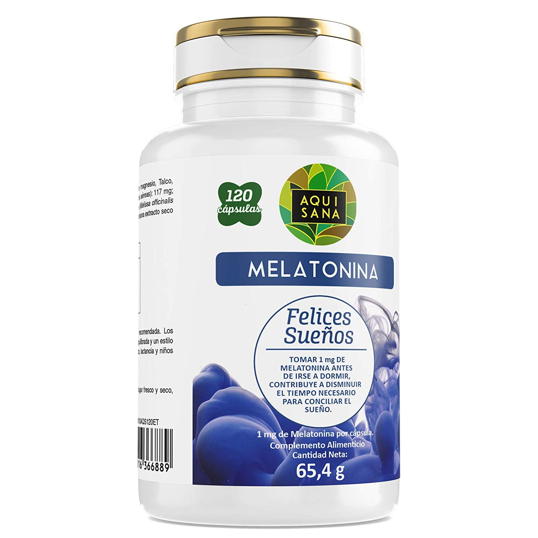 Melatonina - Ayuda a dormir – Valeriana - Tila – Sueño – Antioxidante – Sueño saludable - 240 cápsulas