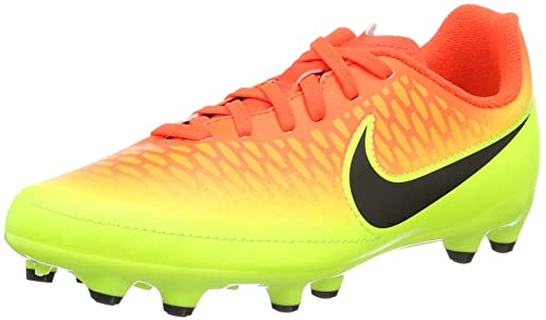 8d92829b8eb Nike Kids Magista ONDA FG Total Crimson/BACLK Volt/Brght Citrus Shoes