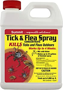 Summit...reponsible solutions. TICK & FLEA Spray - Concentrate - Quart