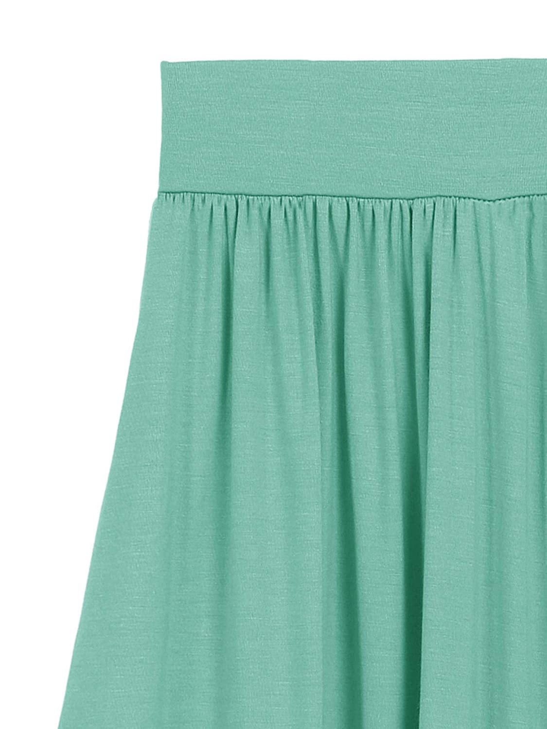 Fashion California Girls 7-16 Years Poly Solid High Low Skirt with Pockets S-XL
