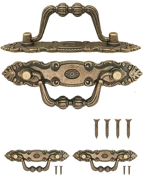 Fuxxer 2x Antike Mobel Griffe Klappbar Schubladen Griffe