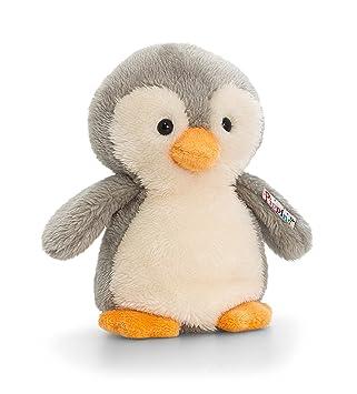 Keel Pippins Pingüino Juguete Suave -Muñeco de Peluche 14cm: Amazon.es: Juguetes y juegos