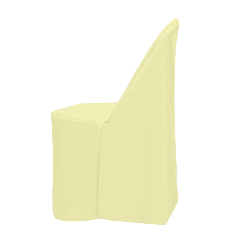 究極Textileポリエステル折りたたみ椅子cover-x 1 Pack イエロー POLY-FOLD-P-104 1 Pack とうもろこし B0752Y5XR9