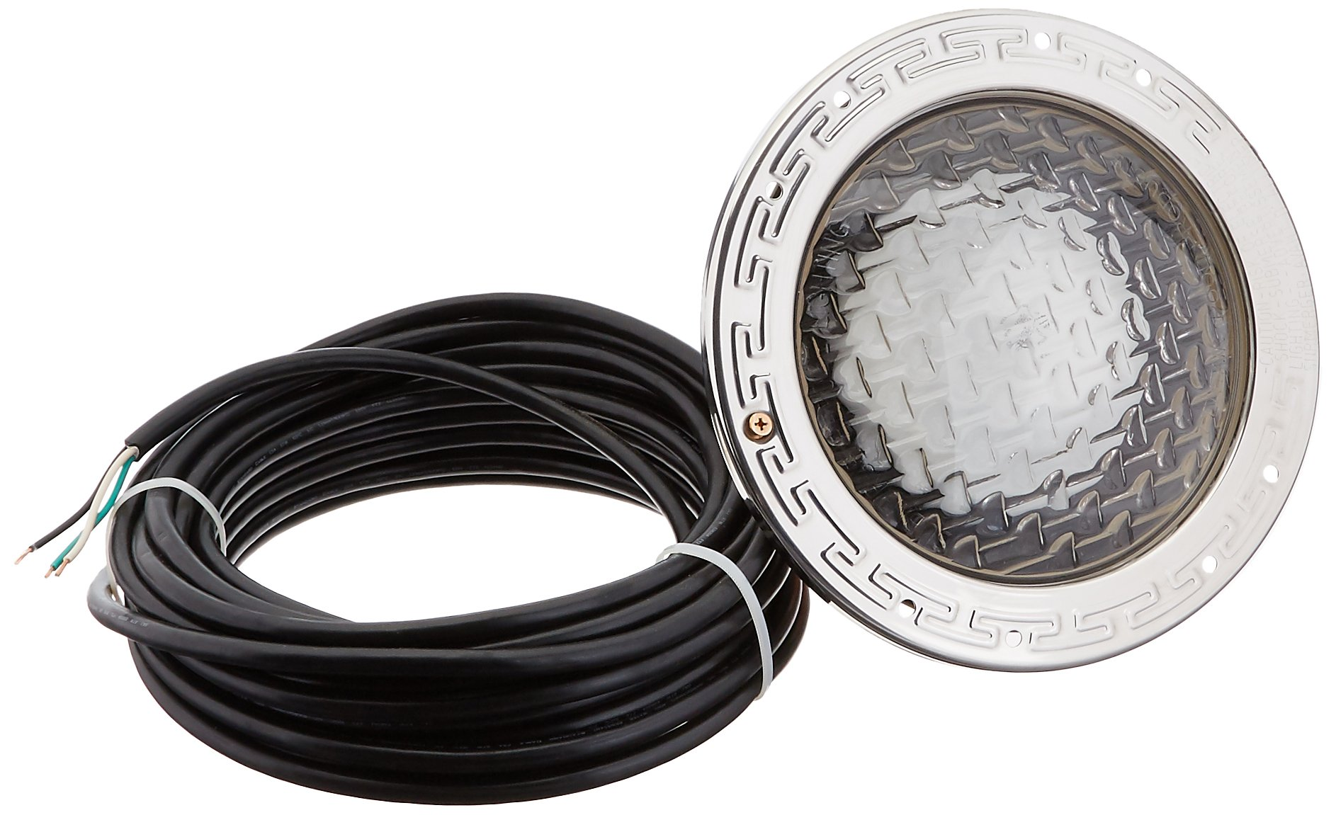 Pentair 78448100 Amerlite Underwater Incandescent Pool Light with Stainless Steel Face Ring, 120 Volt, 50 Foot Cord, 400 Watt by Pentair