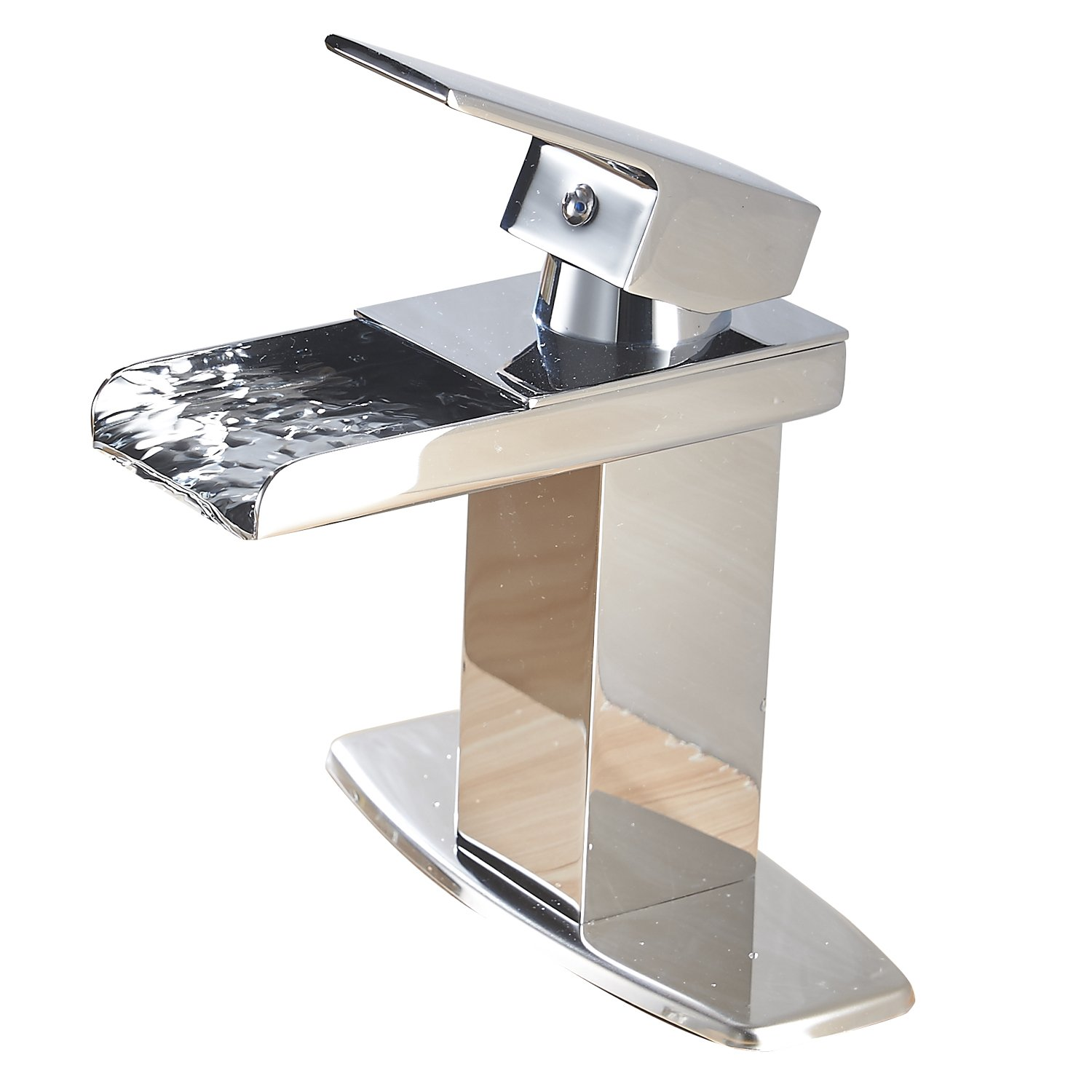 Eyekepper 600985 Modern Waterfall Bathroom Sink Faucet
