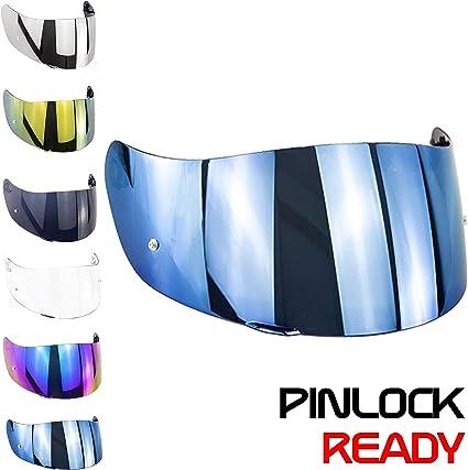 Shield AGV S4-SV /& Stealth-SV Blue Iridium Helmet Visor