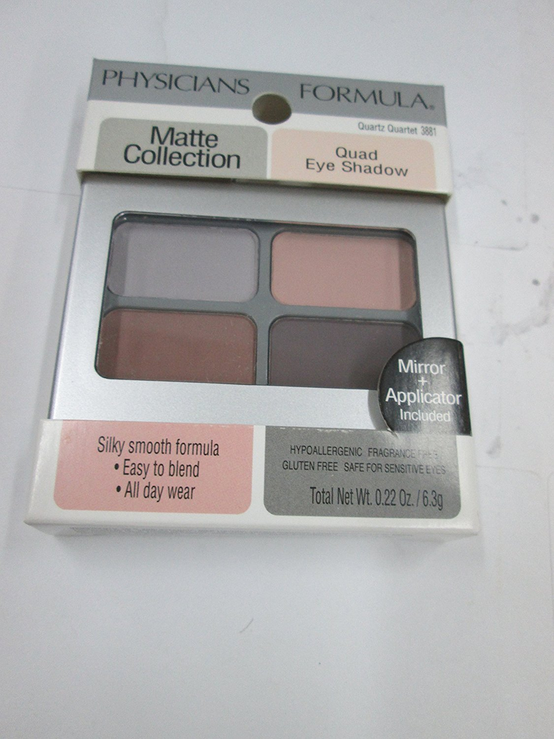 Amazon.com   Matte Collection Quad Eye Shadow-Quartz Quartet   Beauty 379140f0e1