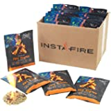 Instafire Granulated Fire Starter, All Natural, Eco-Friendly, Lights up to 120 Total Fires in Any Weather, Awarded 2017…