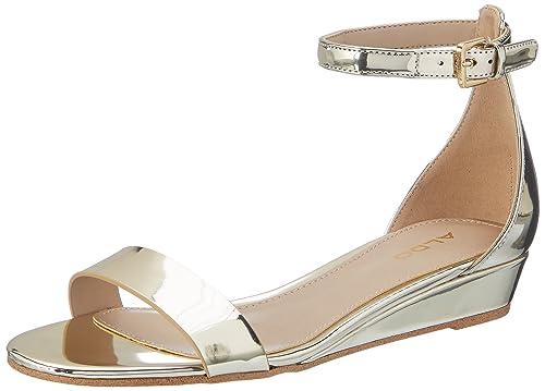 b69fa4cfe8f Aldo Women s Kerina Gold Fashion Sandals-2 UK India (35 EU) (5 US ...