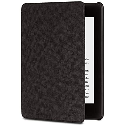 Amazon Kindle Paperwhite-Lederhülle (10. Generation – 2018), Schwarz