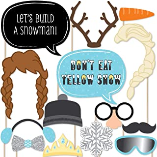 product image for Snow Princess - Photo Booth Props Kit - 20 Count