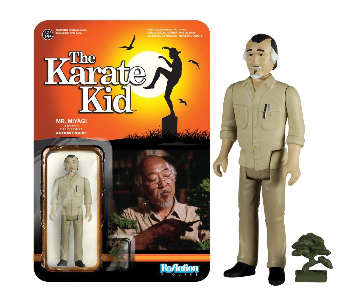 Funko Reaction: The Karate Kid - Mr. Miyagi Action Figure by Funko (Image #1)
