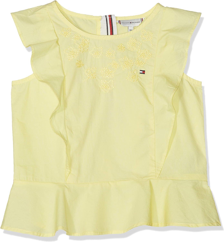 Tommy Hilfiger Girls Endearing Stripe Top Slvls Vest