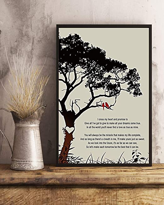 What You Give Song Lyrics Black//White Paper Portrait Poster No Frame US Supplier
