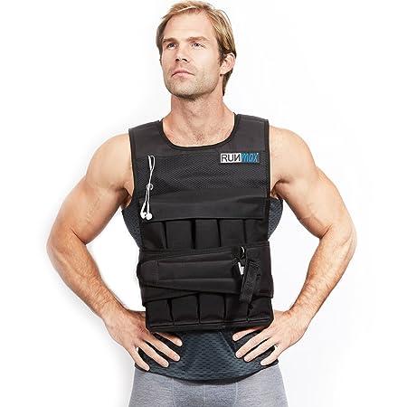 RUNFast Max Pro Weighted Vest 12lbs 20lbs 40lbs 50lbs 60lbs