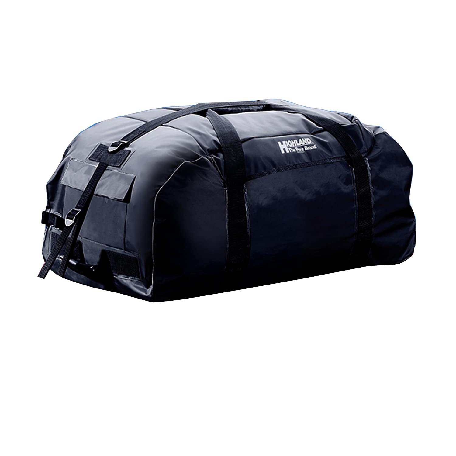 Highland 1039600 Rainproof Car Top Luggage with Wheels BLK:10396