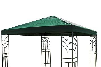 Carpa para techo Lukas tejado para carpa (3 x 3 m verde