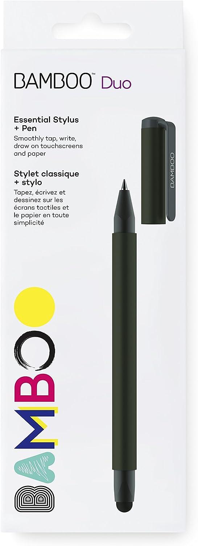 Wacom Bamboo Duo Stylus Pen Black CS191K Black 4th Gen Wacom CS191K